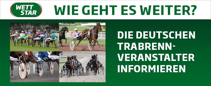 Die deutschen Trabrennveranstalter informieren zur aktuellen Situation und das weitere Vorgehen